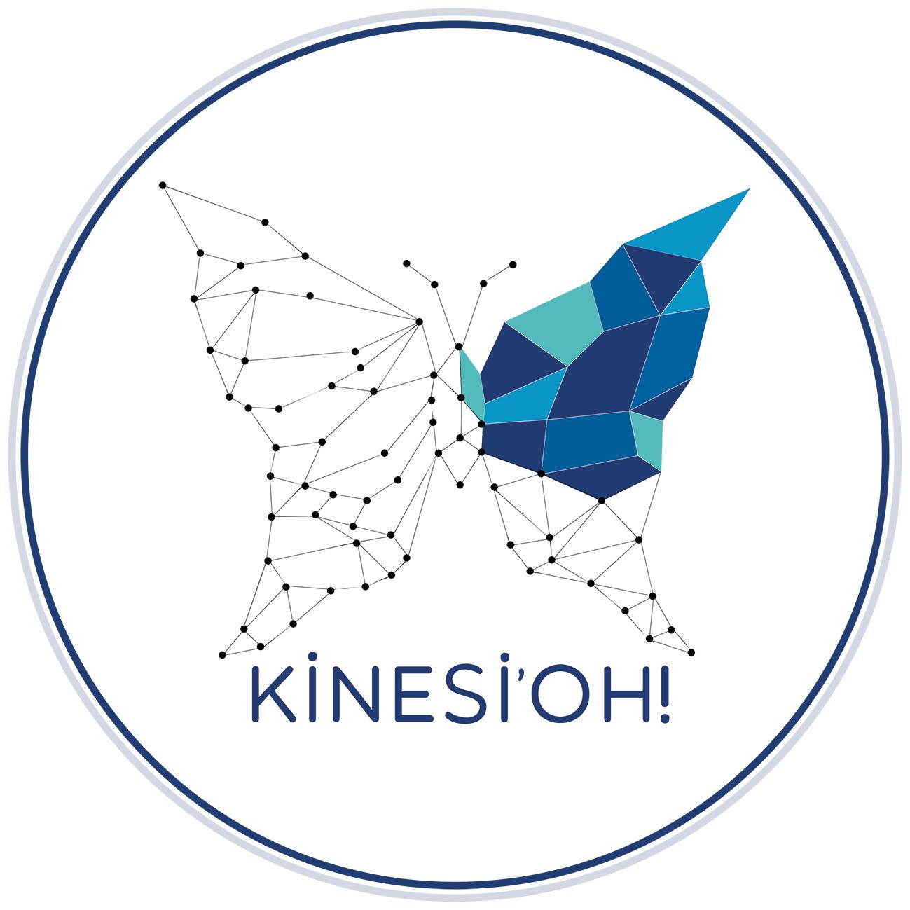Logotype KINESIOH sandrine auxire la rochelle kinesiologie kinesiologue